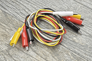 Test Lead Double Ended Insulated Alligator Jumper Wire 36 Electrical 16 gauge