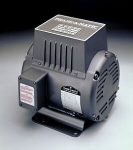 Model R 2 Phase a matic Rotary Phase Converter