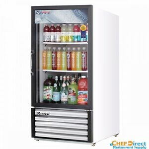 Everest Emgr8 24 Single Swing Glass Door Merchandiser Refrigerator