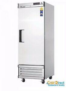 Everest Ebwf1 29 1 4 One Section Solid Door Upright Reach in Freezer