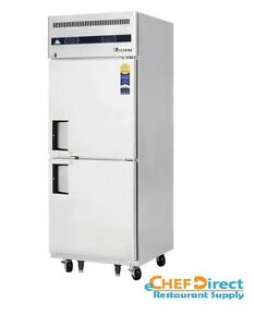 Everest Refrigeration Esrfh2 One section Reach in Refrigerator freezer Combo