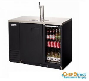 Everest Ebds2 bbg 24 Two Section Back Bar direct Draw Keg Refrigerator