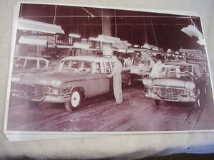 1958 Studebaker Assembly Line 11 X 17 Photo Picture