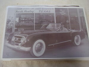 1951 Nash Healy In Front Dealership 11 X 17 Photo Picture