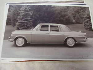 1963 Studebaker Cruser 4dr 11 X 17 Photo Picture