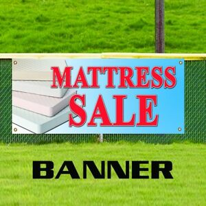 Mattress Sale Banner Furniture Business Store Bed Set Sleeping