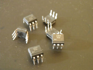 Lite on 4n35 Optocoupler Dc in 1 ch Transistor Dc out 65pcs lot 11 Lots