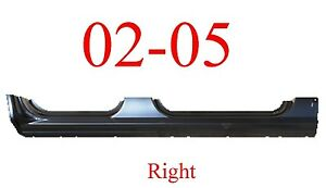 02 05 Ford Explorer Right Extended Rocker Panel Oem Type Extends Into Jams