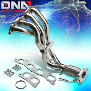 For 03 07 Honda Accord 2 4 K24a4 T 304 Stainless Performance Header Exhaust