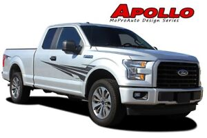 Apollo Side Fender Door Vinyl Graphic Decal 3m Stripe 2016 2017 2018 Ford F 150