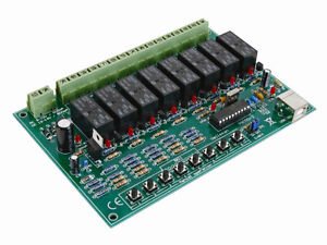 8 Channel Usb Relay Board