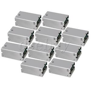 10 Pieces Silver 200w Adjustable 15a Dc dc Step Down Module 8 55v To 1 35v