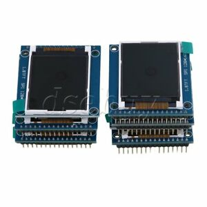 10x Mini 1 8 Serial Spi Tft Lcd Module Display With Pcb Adapter St7735b