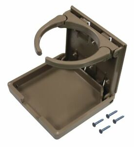 American Technology Folding Cup Holder Tan