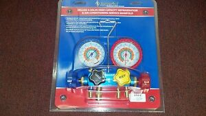 Imperial 4 valve Manifold 4 60 Hose Set With low loss Fittings 652 c