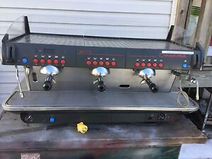 Faema E91 3 Group Commercial Espresso Cappuccino Machine 220 V