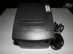 Samsung Bixolon Radiant Pr10148 Thermal Pos Receipt Printer Serial W Power Cable