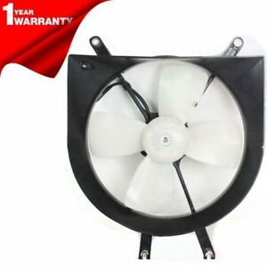 New Radiator Fan Shroud Assembly Ho3115102 Fits 1992 1998 Honda Civic Del Sol