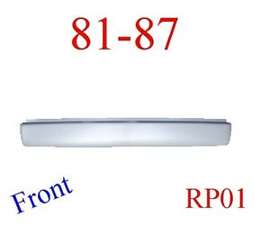 Rp01 81 87 Chevy Front Roll Pan Assembly Smoothie Truck