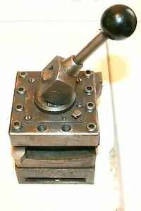 Turret With 2 Tools Enco Brand For 16 To 20 Lathe