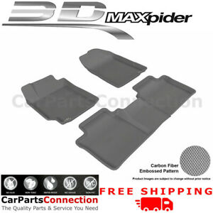 All Weather Floor Mats L1ty00401501 For Toyota Camry 07 11 Kagu Gray Maxpider