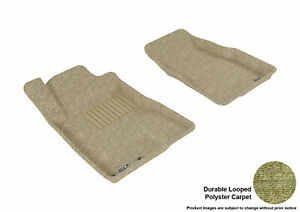All Weather Floor Mats Ford Mustang 2005 2009 Classic Tan R1 Maxpider