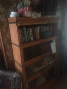Oak Lawyers Stackable Book Case