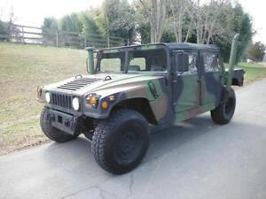 M1123a2 Military 4dr H1 Hummer Military Truck On road Title M998