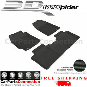 All Weather Floor Mats L1ty00401509 For Toyota Camry 07 11 Kagu Black Maxpider