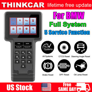 Thinkscan For Bmw Full System Car Diagnostic Obd2 Scanner Abs Srs Sas Dpf Ects