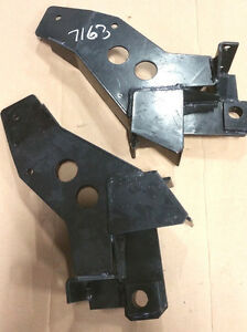 Fisher 7163 Push Plates For Minute Mount 2 Snow Plow Jeep Wrangler 1997