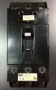 Federal Pacific Nfj631150 Circuit Breaker 225a 600v 3 Pole