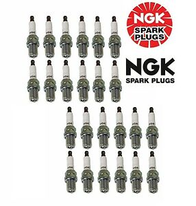 Ngk R5671a 8 4554 V Power Racing Turbo Nitrous Supercharged Spark Plugs Qty 24