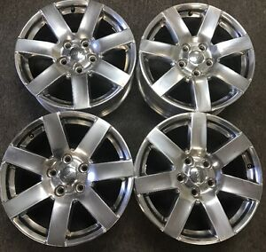 Four 4 2014 16 Jeep Wrangler Wheel Rim 18 Oem Used 1tk93trmac Polished W85 88
