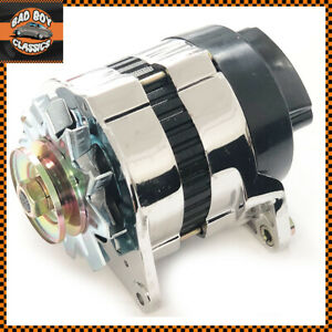 Chrome 18acr 45 Amp Alternator Mg Mini Morris Triumph Austin Ford
