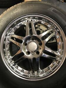 Boss 317 Chrome Wheel 17x 7 Rim 5x4 5 Chrysler 300 Dodge Charger