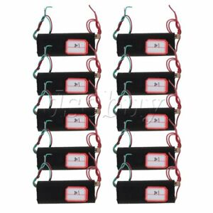 10x Bolzr Black Dc 3v 6v Boost Step up Power Module High voltage Generator Board