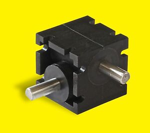 Mini Right Angle Helical Gear Box Model Ra 203 1 1 1