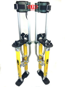 Surpro Sp2 Quadlock Dually Magnesium Drywall Stilts 18 30 In sur sp2 1830mp