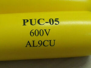 1620 Puc05 Lot Of 4 Penn union Puc 05 Tp7050 Aluminum Terminal Plugs Yellow