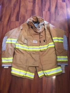 Firefighter Turnout Bunker Coat Globe G extreme 50x35 Euc Costume