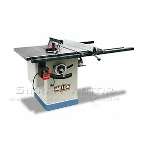 Baileigh Entry Level Cabinet Saw With 30 Extension Board Ts 1040e 30