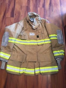 Firefighter Turnout Bunker Coat Globe 48x35 G Extreme Halloween Costume