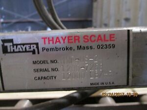 Thayer Scale 6tph
