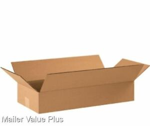 25 22 X 10 X 4 Corrugated Shipping Boxes Packing Storage Cartons Cardboard Box