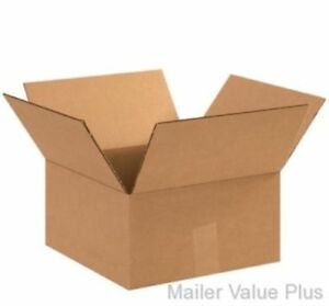 100 8 X 8 X 4 Shipping Boxes Packing Moving Cartons Cardboard Mailing Box