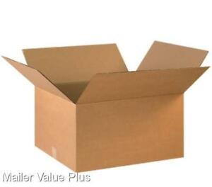 20 22 X 17 X 12 Corrugated Shipping Boxes Packing Storage Cartons Cardboard Box