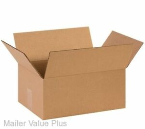 75 14 X 10 X 6 Corrugated Shipping Boxes Packing Storage Cartons Cardboard Box