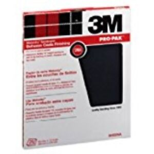 3m Pro Pak Wetordry Sanding Sheets 600a Grit 9 Inch By 11 Inch