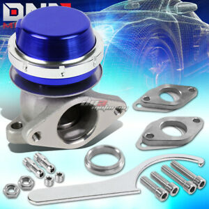 Universal External 38mm Turbo V band 3 9 Wastegate Bypass Exhaust spring Blue